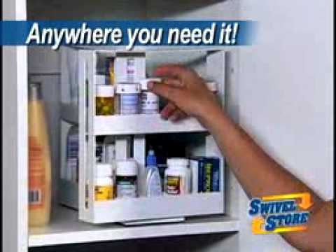 Official Swivel Store Spice Rack Commercial As Seen On TV