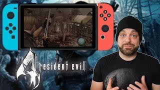 Why Resident Evil 4 for Nintendo Switch is DISAPPOINTING