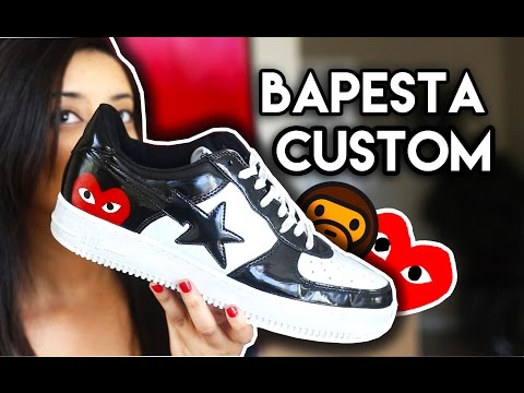Ballin On A Budget #3 Trip To The Thrift (Flyknits, $500 Profit) + Bapesta Comme Des Garcons Custom