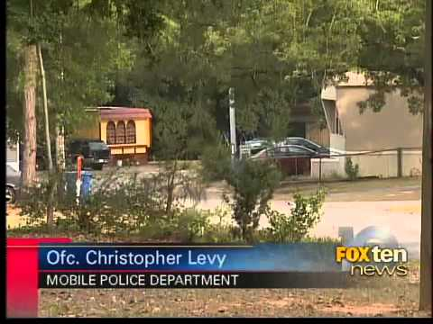 mobile police bust meth lab