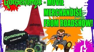 Unboxing - Goosebumps Movie Merchandise From Roadshow!