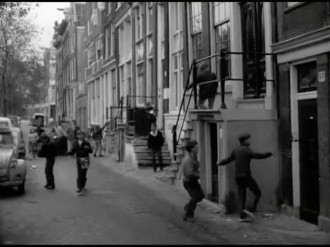 1967: Luilak in de Jordaan te Amsterdam, met Jordanezen - oude filmbeelden - i.h.k.v. Luilak 2020