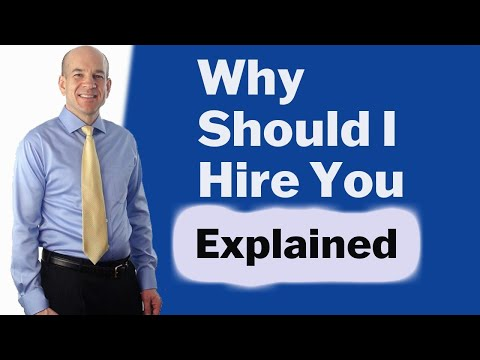 """Why should I hire you"" - Best Interview Questions and Answers"