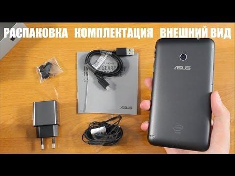 Asus FonePad Note 6 Распаковка