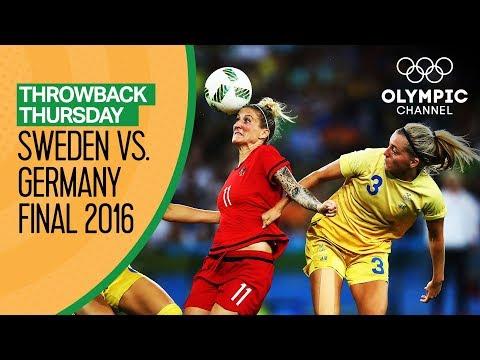 Full Rio 2016 Women's Football Final | Sweden vs. Germany | Throwback Thursday