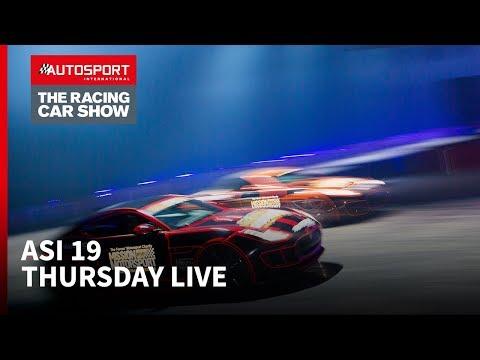 Thursday Autosport Stage Livestream Autosport International 2019