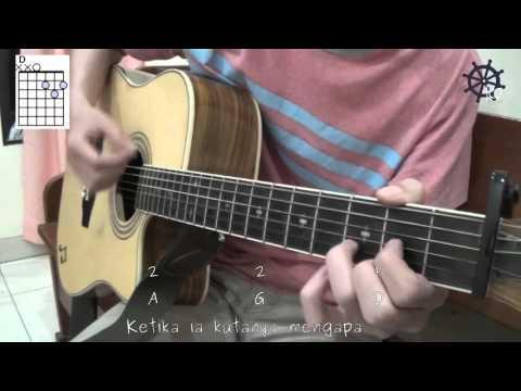 5 MENIT Belajar Kunci Dan Genjrengan Gitar (Berita Kepada Kawan - Ebiet G  Ade)