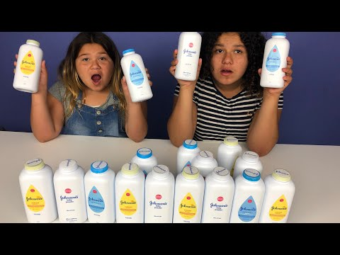 Don't Choose the Wrong Baby Powder Slime Challenge