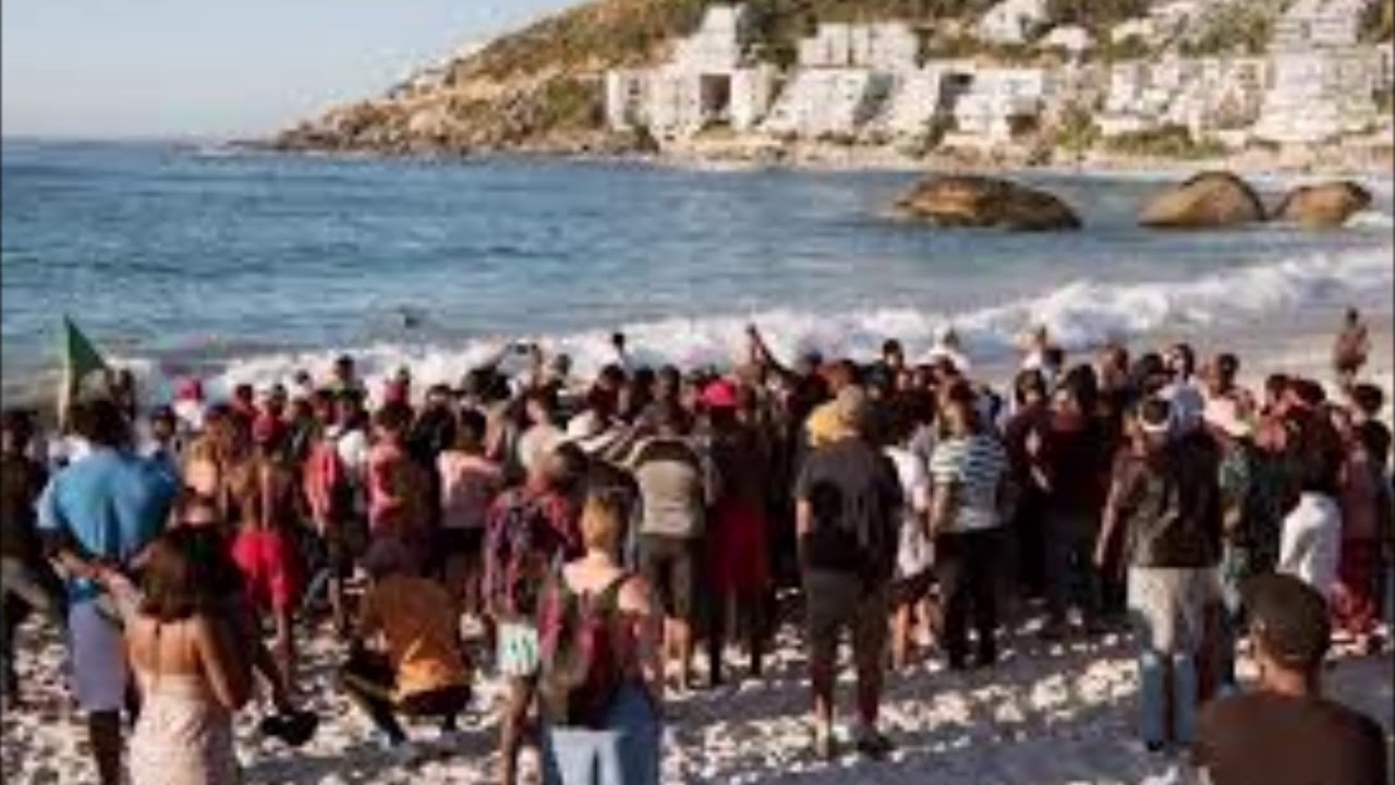 Blacks Ordered To Leave Beach In South Africa