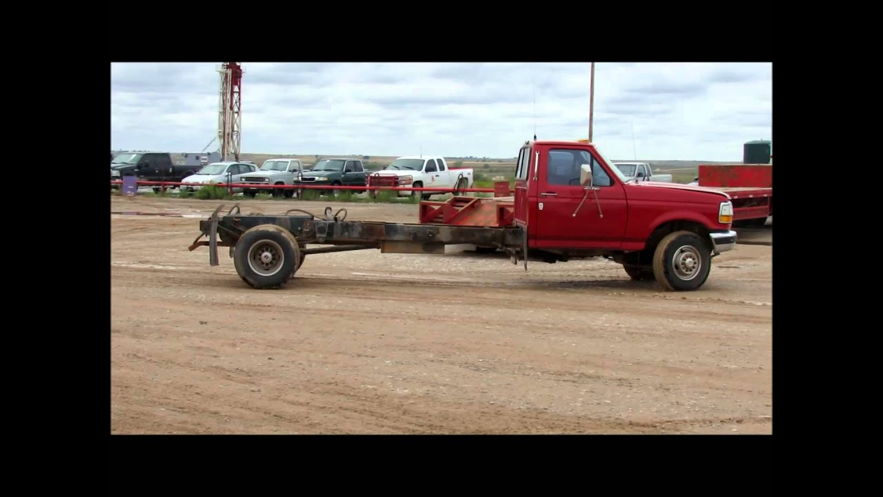 1992 ford f450 super duty pickup truck cab and chassis sold at auction october 31 2012 youtube