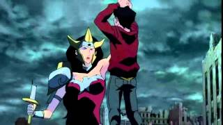 Wonder Woman Killing Billy from Justice League: The Flashpoint Paradox 2013