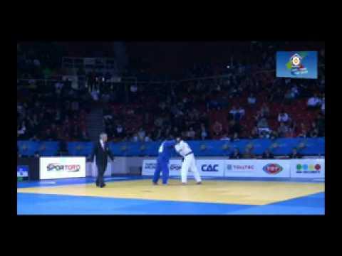 Judo :: João Pina vence combate das M/F do Campeonato da Europa de Judo em 2011