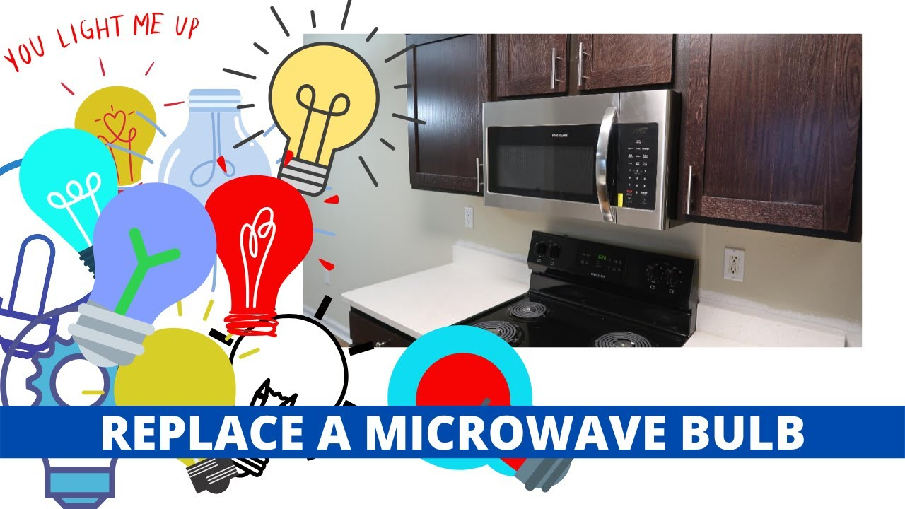 Whirlpool Microwave Bulb Replacment Youtube