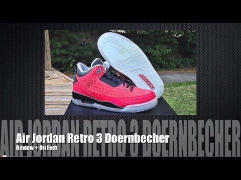 brand new a8ce2 f69b3 Air Jordan III 3 Doernbecher Retro DB 2013 + On Feet 7 20 13 + Nike