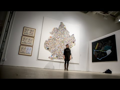 Artist Finishes Trash Map of Brooklyn After Walking Every Single Block