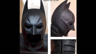 Batman The Dark Knight Rises Prop Replica Cowl Armor 1:1 Life Size Scale Suit