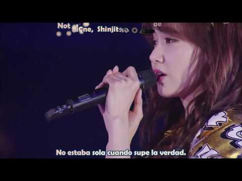 SNSD Not Alone Sub Español Live Tokyo Dome