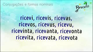 RICEVI verbo em Esperanto