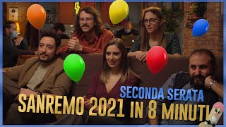 The Jackal - SANREMO 2021 in 8 minuti - Seconda Serata