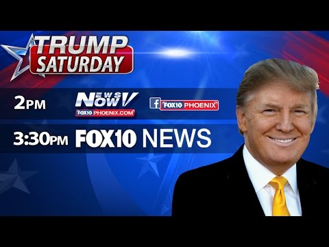 FNN: FULL Coverage of Trump Rally in Phoenix - PLUS - Jennifer Lopez Campaigns For Hillary Clinton