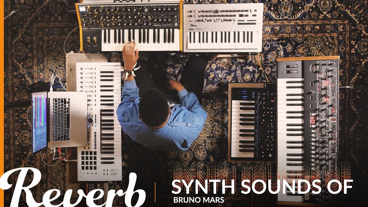 The Synth Sounds of Bruno Mars: