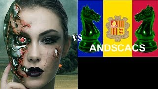 Leela Chess uses London System brilliantly for transcendental Thorn pawn immortal vs Andscacs 0.94