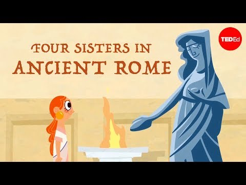 Video image: Four sisters in Ancient Rome - Ray Laurence