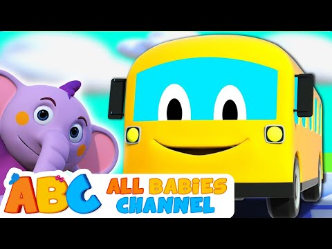 The Wheels On The Bus Children Song 3D Nursery Rhymes For Babies By All Babies Channel | Kids Songs