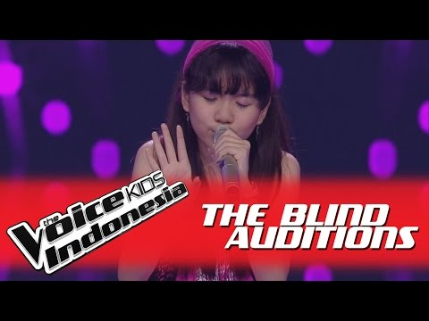 "Monica ""Karena Ku Sanggup"" I The Blind Auditions I The Voice Kids Indonesia GlobalTV 2016"