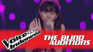 "Monica ""Karena Ku Sanggup"" I The Blind Auditions I The Voice Kids Indonesia GlobalTV 2016 MP3"