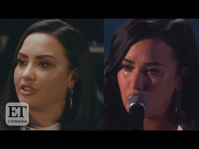 Demi Lovato Talks 'Anyone' Grammy Performance
