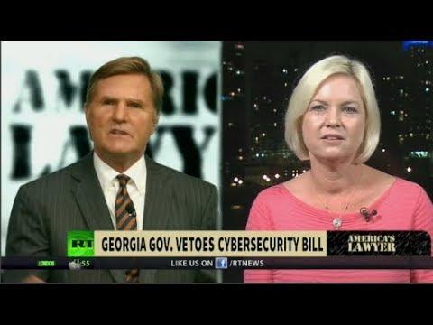 Georgia Vetoes Internet Hacker Bill