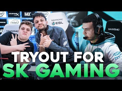 TARIK'S TRYOUT FOR SK GAMING (FPL)