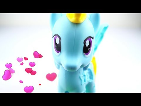 Little Pony-braiding Hair / Play Doh / 4UKidsTV
