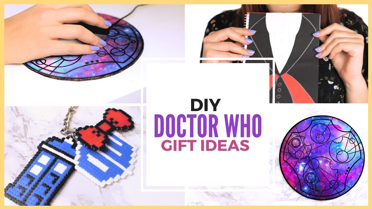 DIY Doctor Who Fandom Gift Ideas | Doctor Who DIY Projects ...