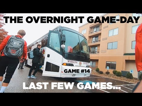 First Overnight College Game! | Team travel against Concord University Men's Soccer