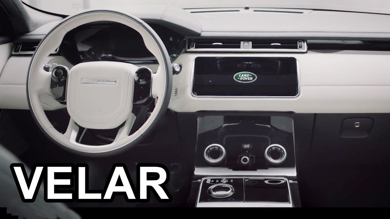 2018 land rover range rover interior. plain land 2018 range rover velar  interior and land rover range interior i