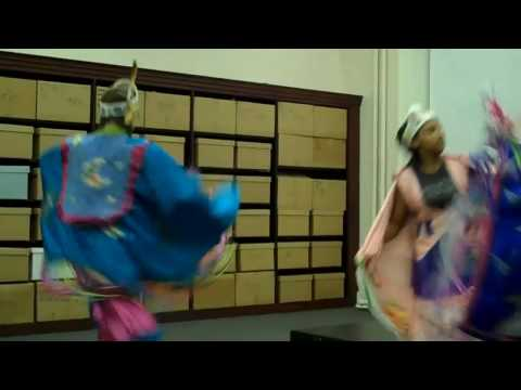 Lenni-Lenape Indians perform Butterfly Dance