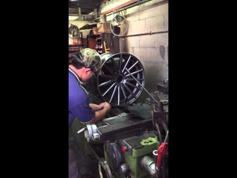 Repair scratch wheels