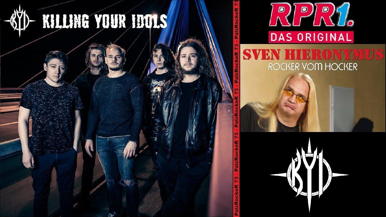 RPR1-Rocker vom Hocker Sven Hieronymus mit Killing Your Idols