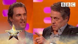 Cat or Dog person? Matthew McConaughey v Hugh Grant | The Graham Norton Show - BBC