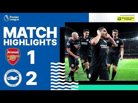 Arsenal 1 Brighton & Hove Albion 2