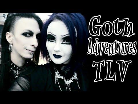 Goth Adventures in Tel Aviv.Halloween and...