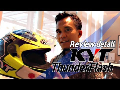 VLOG : Review KYT Thunder Flash
