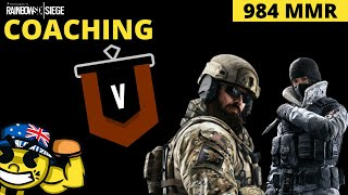Coaching A LEGIT Copper 5 (984 MMR) - R6 ANALYSIS