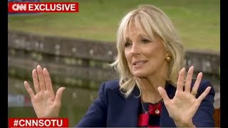 """Jill Biden goes viral with EPIC response when asked about Joe's """"gaffes"""""""