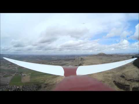 Slingsby Swallow Soaring the Bishop at Portmoak April 2015