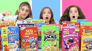 Don't Choose The Wrong Cereal Slime Challenge!!