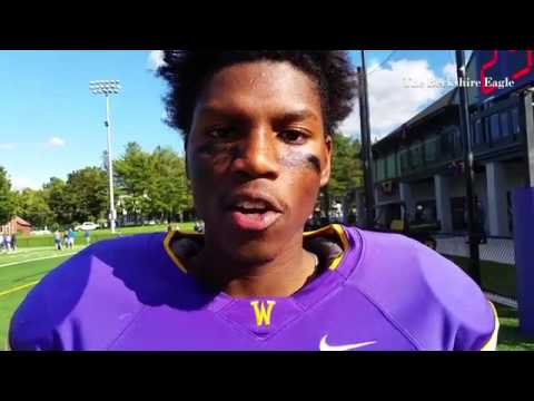 Williams QB Jansen Durham completed 5 passes on a 4th quarter drive that put Williams ahead.