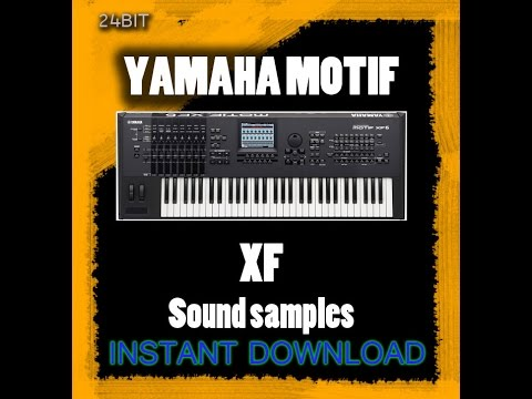 Yamaha motif xf sound kit youtube for Yamaha motif sounds download free